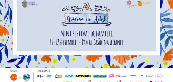 Concert, teatru pentru copii, ateliere si targ pe 11 si 12 septembrie la Gradina cu Artisti